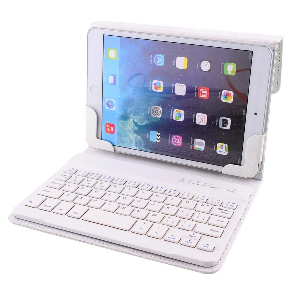Professional Special design Leather Bluetooth 3.0 Keyboard Case Cover For 7