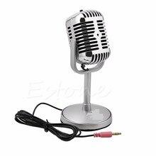 3.5MM stéréo enregistrement ordinateur de bureau ordinateur portable Mini Microphone pour chanter Chatting offre spéciale