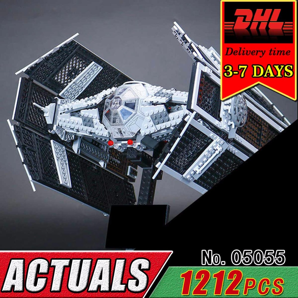 DHL LEPIN 05055 Star Series Military War The Rogue One USC Vader TIE Advanced Fighter Compatible 10175 Building Bricks Block Toy