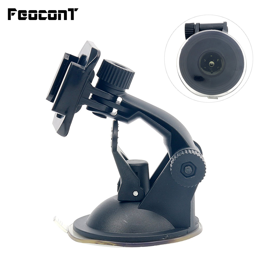 FeoconT 7cm Car Mount Base Dashboard Windshield Vacuum Suction Cup for Gopro Hero 4 3+2 sj4 Sjc Xiaomi Yi camera dulane c00057 80cm powerful suction cup car holder for gopro hero 4 2 3 3 black