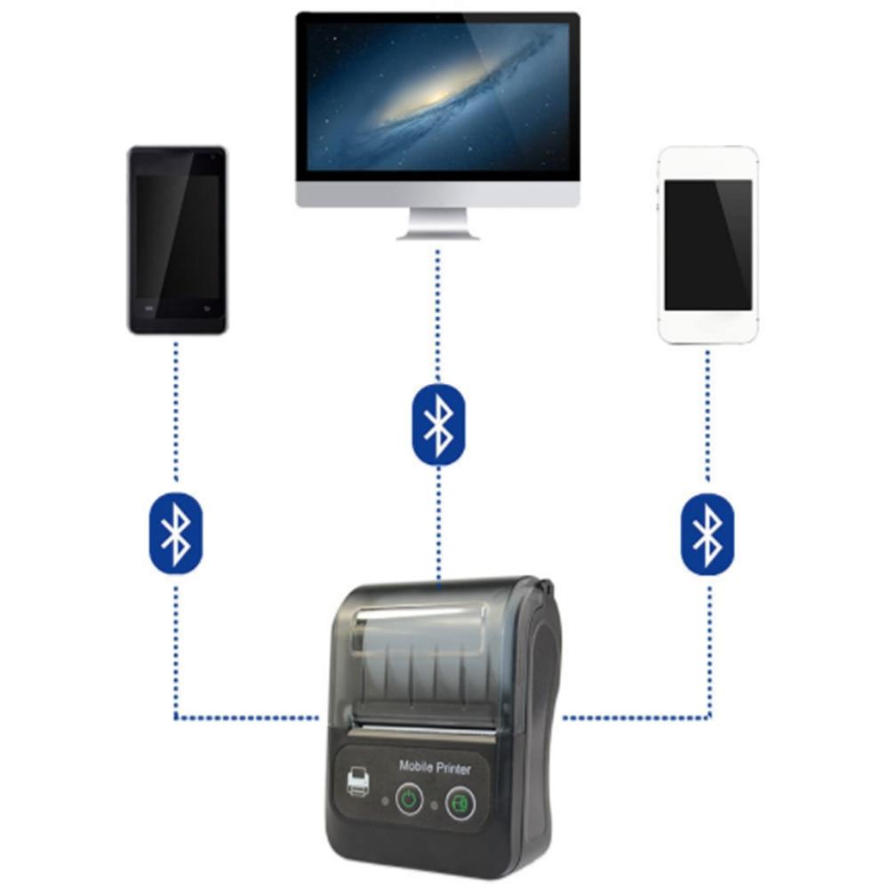Imprimante d'étiquettes thermiques Bluetooth BT QR Code autocollant imprimantes d'étiquettes de codes à barres offre spéciale - 3