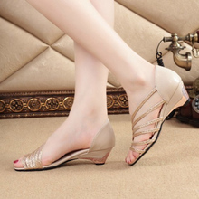 Open Toe Women Sandals 2017 New Fashion Summer Shoes Thick Heel Sexy Slip-On Women Shoes