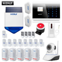 English Russian Spanish French GSM Alarm System Self Defense Alarm Security Alarm Systems APP Control Security