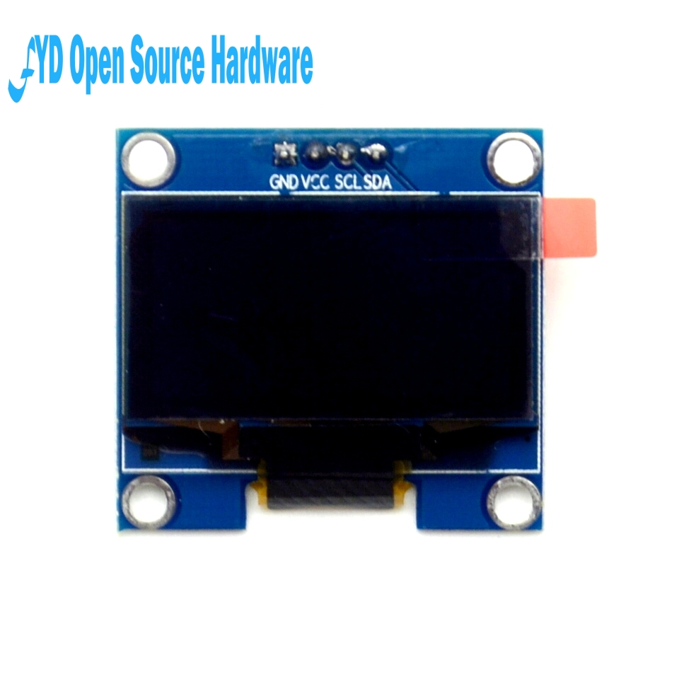 "1PCS 4PIN 1.3"" OLED Module White/blue Color 128X64 1.3 Inch OLED LCD LED Display Module 1.3"" IIC I2C Communicate"