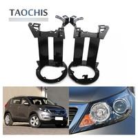 Taochis Car Styling Frame Adapter Module DIY Bracket Holder For KIA SPORTAGE Hella 3 5 Q5