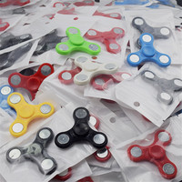20PCS Hand Spinner Tri Fidget Ceramic Ball Desk Focus Toy EDC Stocking Stuffer Free Shipping