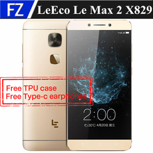 "Original LETV LeEco LE MAX 2 X829 4GB RAM 64GB ROM 5.7"" IPS 2K Android 6.0 Snapdragon 820 quad core 4G LTE 21MP OTG fingerprint"