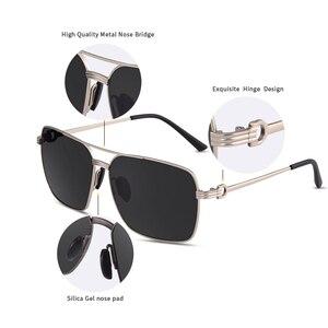 Image 5 - AOFLY ยี่ห้อออกแบบคลาสสิกแว่นตากันแดด Polarized สำหรับผู้ชายขับรถ Shades Alloy Retro กรอบแว่นตากันแดดชาย zonnebril Heren