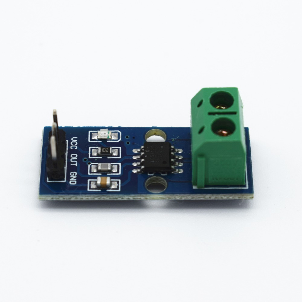 <font><b>10pcs</b></font>/lot NEW 5A Hall Current Sensor Module <font><b>ACS712</b></font> 5A model image