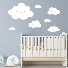 Lovely Clouds Wall Sticker Decor Home Decoration For Babys Room Kids Decals Murals