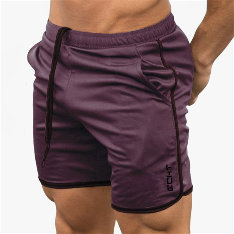 2019 Mens Summer Fitness Shorts Fashion Compression Fast Drying Gyms Bodybuilding Joggers Shorts Slim Fit Clothing Sweatpants