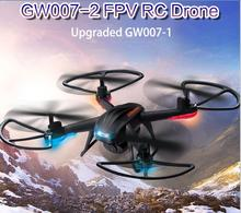2017 New GW007-1 upgrade version GW007-2H WIFI fpv rc Drone Quadcopter 2.4g 4ch 3D flip helicopter toy vs X8C H26WH