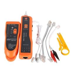 Hot Sale RJ11 RJ45 Cat5 Cat6 Telephone Wire Tracker Tracer Toner Ethernet LAN Network Cable Tester Detector Line Finder