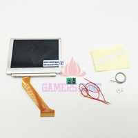 For GBA SP Screen LCD OEM Backlit Brighter Highlight W Normal Motherboard Modify Part