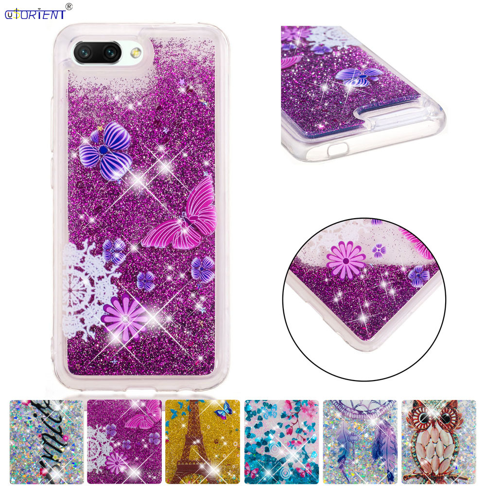 Phone Bags & Cases Sensible Huawei Honor 10 Bling Glitter Dynamic Liquid Quicksand Phone Cover Honor10 Col-l29a Col-l29 Col-l29d Soft Silicone Case Funda