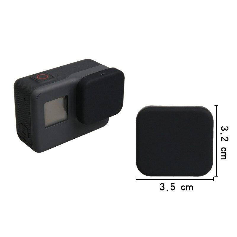 Tapa del objetivo Para Gopro Hero 7-6-5 Marco Caso Cubierta Protectora Accesorios de cámara