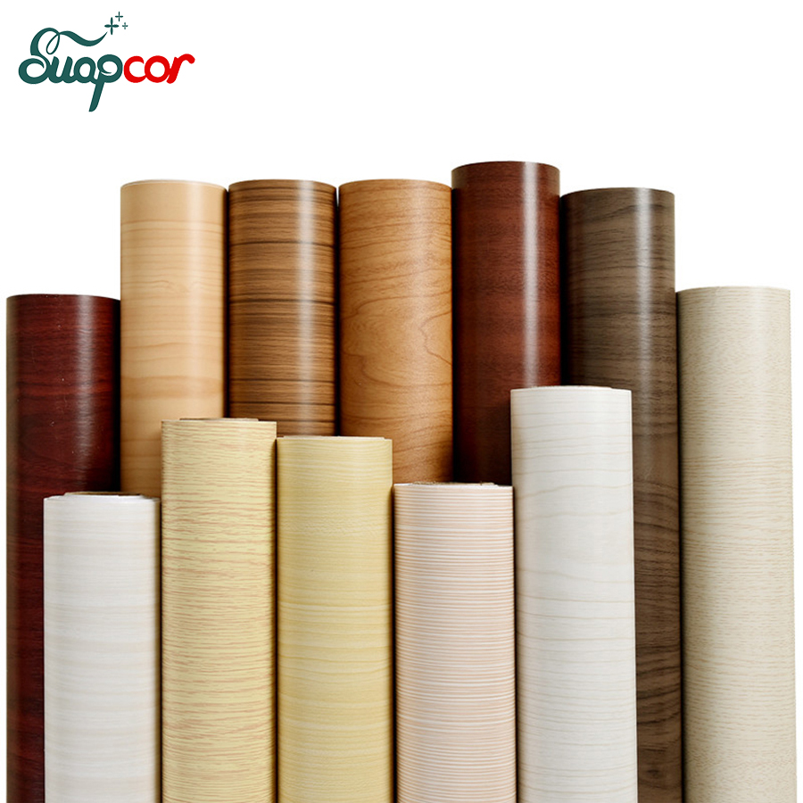 Kitchen Cabinet Door Protection Film 0.6x5m New Wood Grain Pvc Self Adhesive Decorative Film