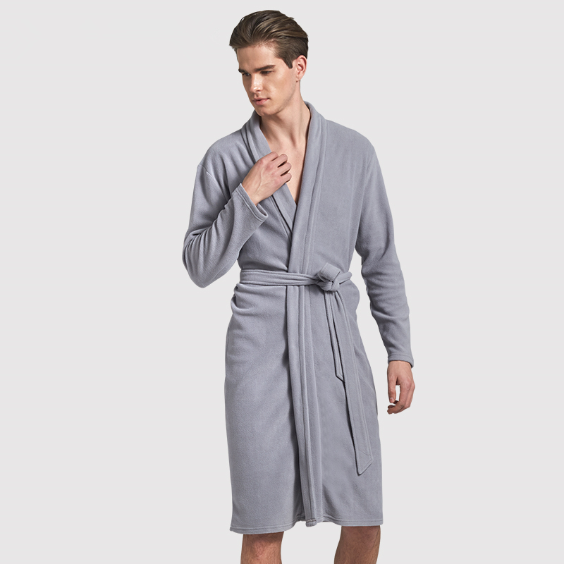 5a2b939631 Manyuqi Autumn men s bathrobe ...