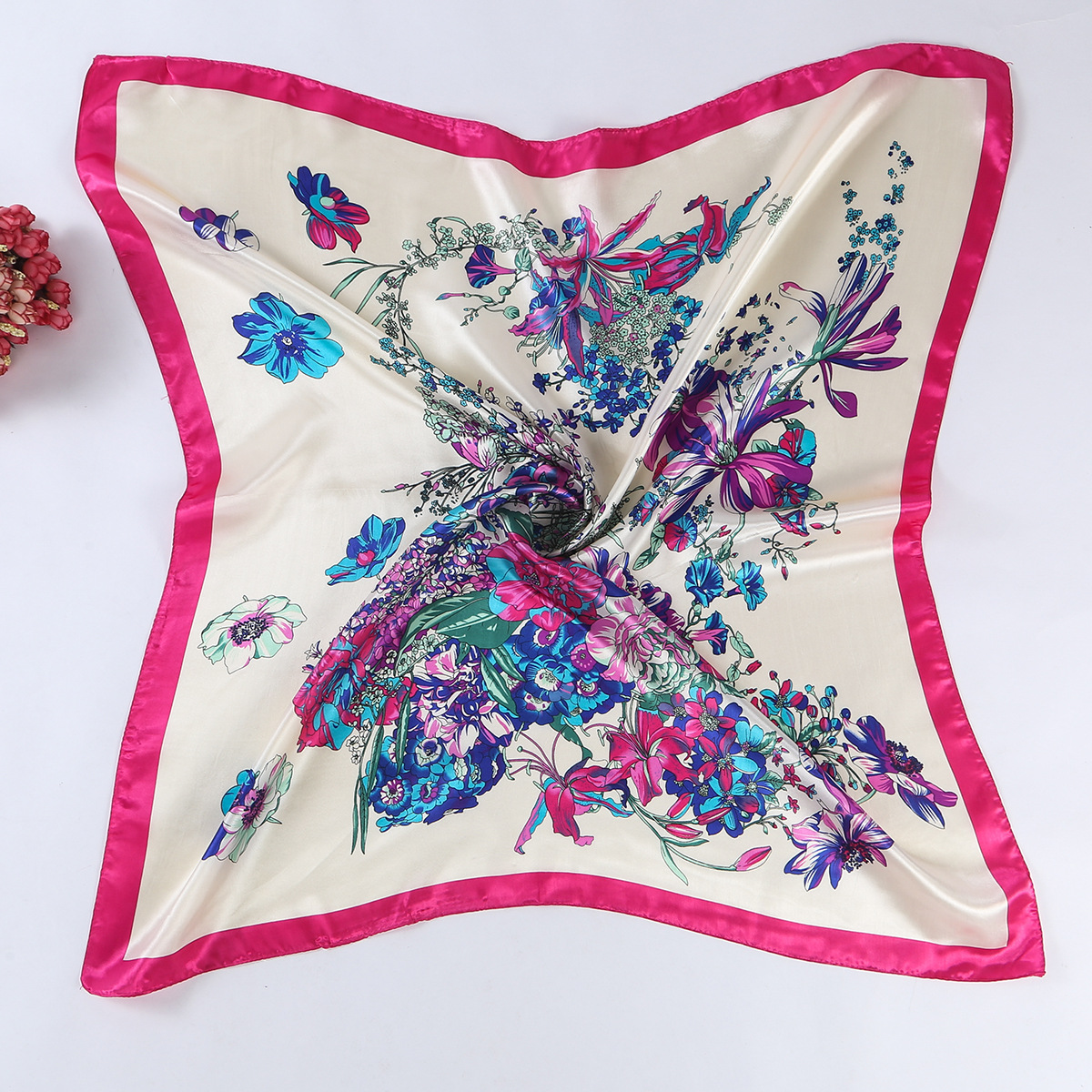DANKEYISI 2018 New Spring Women Scarf Female Square Silk Scraf Shawl Ladies Scarves hijab Beach Pashmina Shawl Foulard Scarf