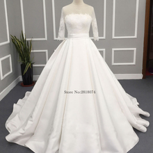 EBDOING Real photo Wedding Dresses Ball Gown