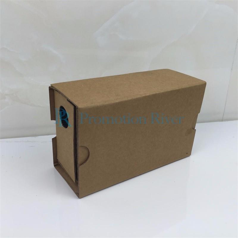 Event Supplies Logo Custom Google Cardboard V 2.0 Custom printing Virtual Reality Headset VR Viewer for up to 6 inch phone 1