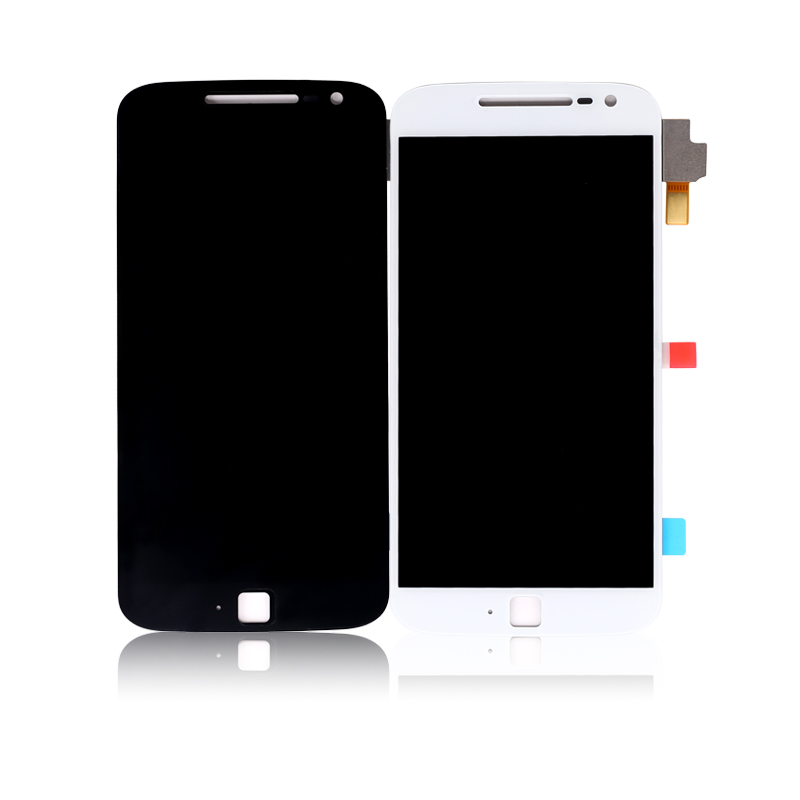 For Motorola For Moto G4 Plus LCD Display With Touch Screen For Moto G4 Plus Display Digitizer Assembly Free Shipping