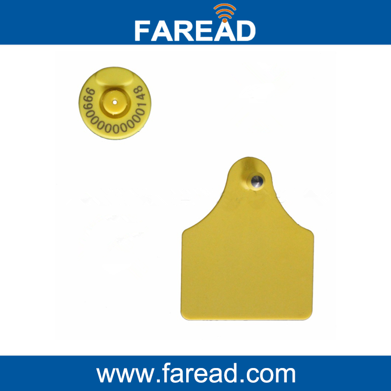 X60pcs Rfid Tags Livestock Tracking Tag With Icar Certification
