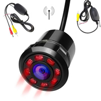 2 4G Wireless Transmitter Receiver Car Rear Front View Parking Camera With 8 Infrared Night Vision