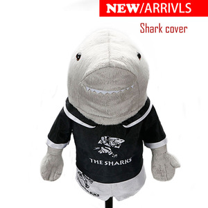 Image 1 - Golf headcover clubs driver Shark pets unisex  golf clubs protect covers