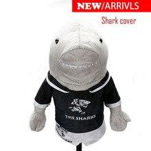 Headcoverกอล์ฟคลับDriver Sharkสัตว์เลี้ยงUnisexกอล์ฟคลับป้องกันครอบคลุม