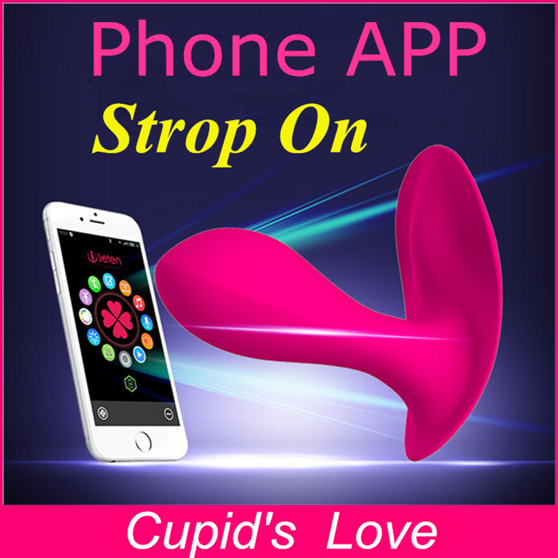 High Quality 16 Speed Phone App Remote Control Vibrator -9763