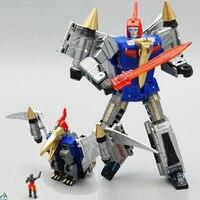 Transformação MFT MF-21 metal cor Dinobot Swooper Swoop Figura brinquedos