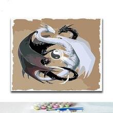 Diy Цифровая краска ing клетка Комплект домашний Декор подарок