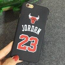 Michael Jordan 23 Phone Case iPhone 6 6S Plus 5 5s