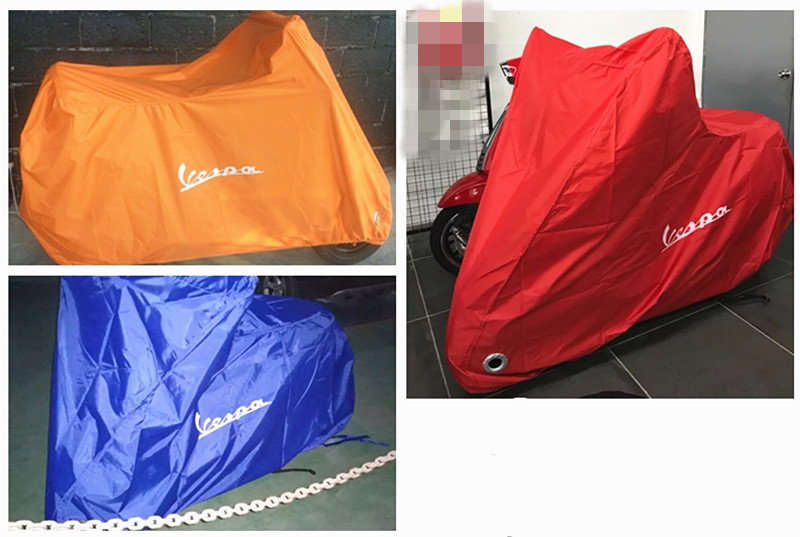 for Vespa Scooter Cover GTS250 300 LX 50 125 LXV150 Waterproof Outdoor Indoor Rain Dust Cover