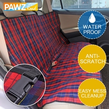 Products for Pet Plaid Dog Carriers Car Seat Cover Durable Puppy Cats Blanket Hammock Cushion Mats Protector Travel