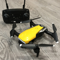 2.4GHz Remote Contral Mini Drone With Camera HD RTF WiFi FPV Foldable Pocket Quadrocopter One Key Return RC Helicopter Dron Toys