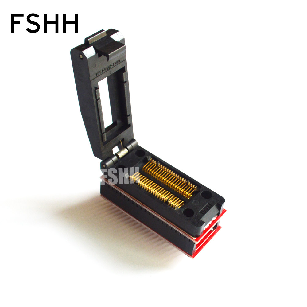 все цены на PSOP44 to DIP40 Programmer Adapter SOP44 PSOP44 TO DIP40 IC Test Socket clamshell high quality