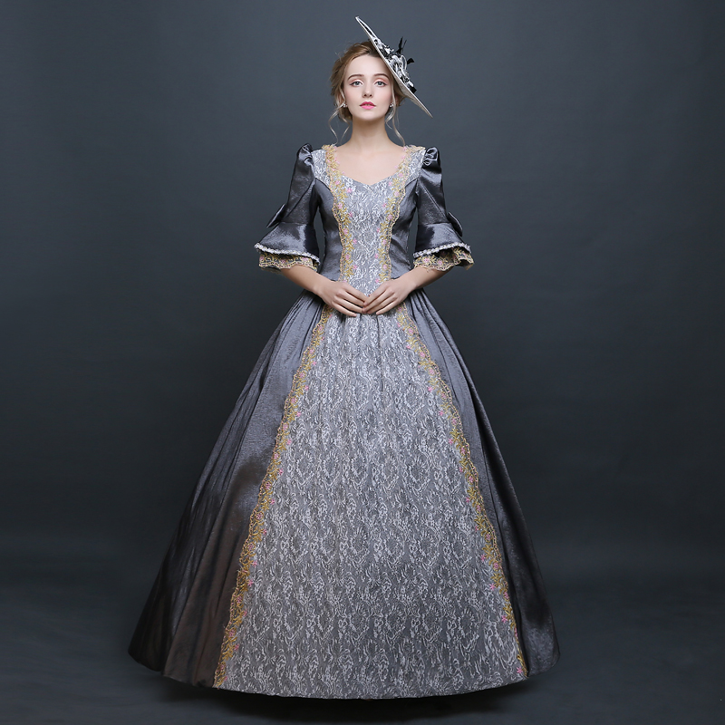 Robe gothique lolita robe victorienne princesse doux lolita costumes cosplay lolita style renaissance robe grande taille alice