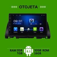 OTOJETA car accessory for Kia Optima K5 2016 radio gps navi android 8.1 stereo tape recorder headunits multimedia carplay player