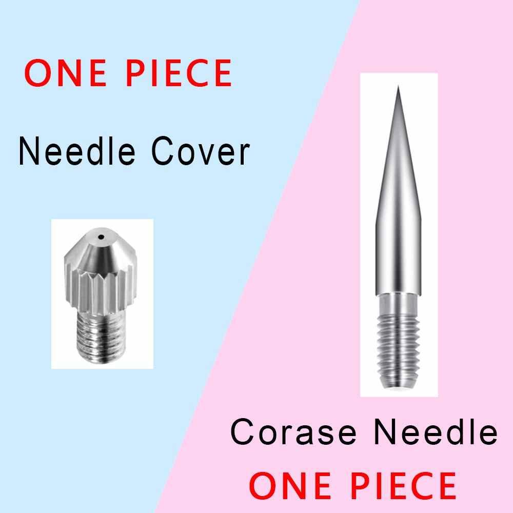 Dot Mole láser pluma de eliminación de Plasma reemplazable fino agujas cubierta Corase grueso Neddle pecas piel punto accesorio dedicado