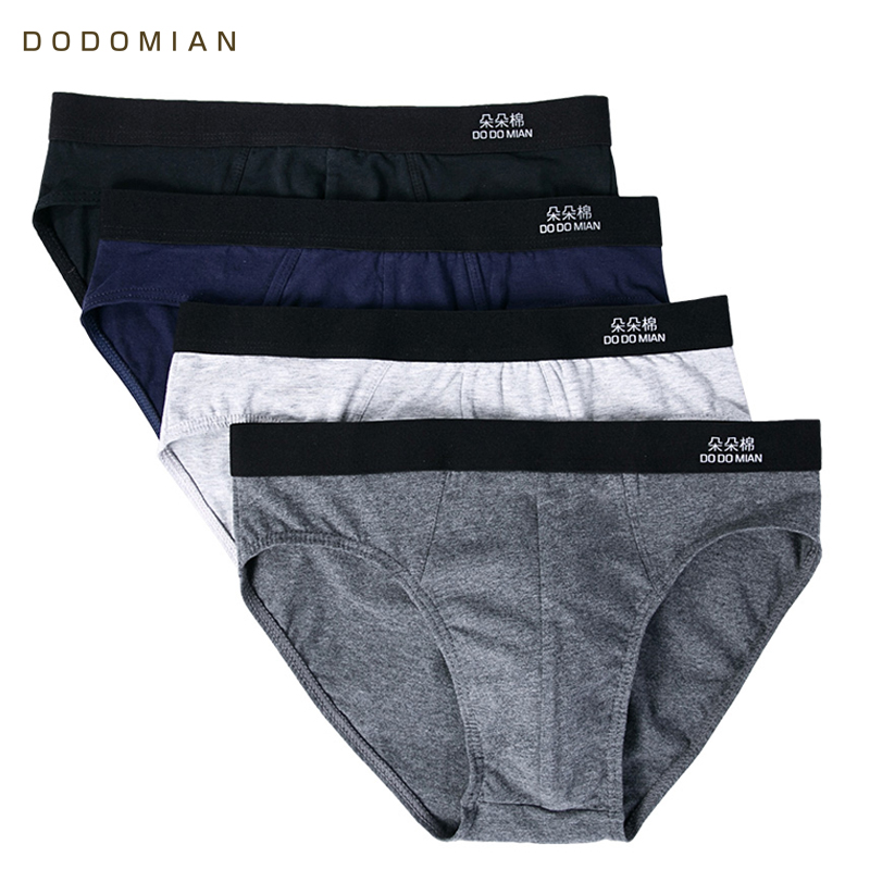 Men Briefs 4pcs\lot Cotton Men Underwear Plus Size Cuecas Soft Underpants High Quality Boys Panties Plus Size L-4XL