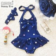 Soleado eva para niños trajes de baño niñas de una pieza del traje de baño para las niñas bebé ropa niña bikini traje de baño marca