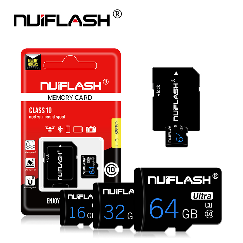 Carte mémoire Flash 8gb 16gb 32gb carte Micro sd 64gb 128gb cartao de memoria mini lecteur flash carte sd avec adaptateur cadeau