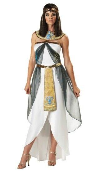 Jual panas baru dewi Yunani kostum fantasia Mesir ratu