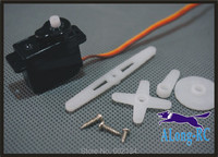 FREE SHIPPING: EMAX ES08E 8g /8.5g servo wire 260mm (no logo version) for helicopter /hobby plane /RC model/airplane