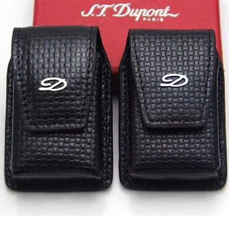 Free shipping 100% New high quality lighter leather case for dupont Cigarette Accessories     -