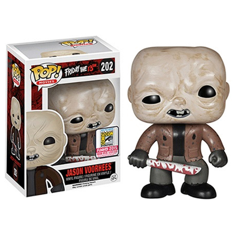 Funko POP New Friday the 13th Jason Voorhees 202# Vinyl Action Figures Horror Movie Character Collection Model Toys For GiftsFunko POP New Friday the 13th Jason Voorhees 202# Vinyl Action Figures Horror Movie Character Collection Model Toys For Gifts