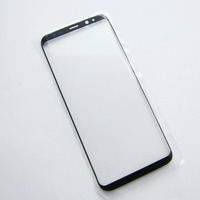 Soopom Genuine Front Outer Screen Glass Lens Black Replacement For Samsung Galaxy Note 8 Front Screen