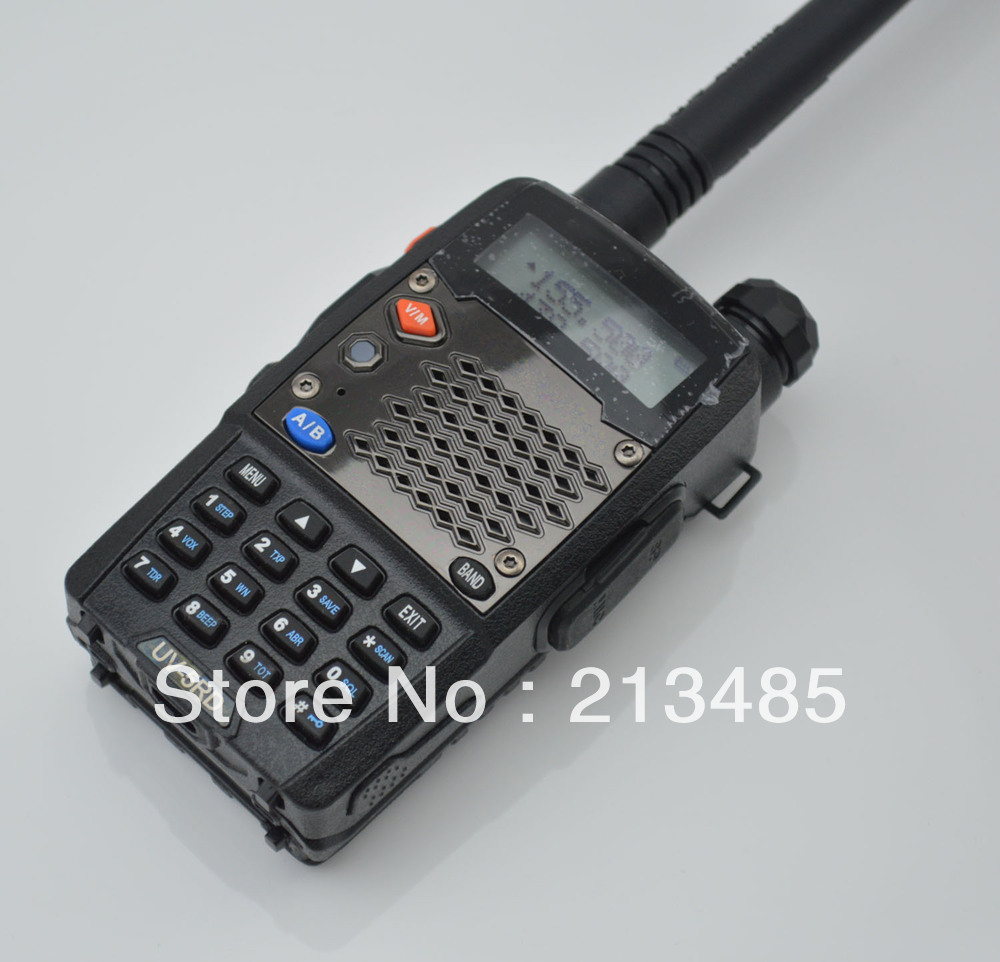 Baofeng UV-5RD 136-174MHz(RX/TX) & UHF400-520MHz(TX/RX) Dual Band 5W/1W 128CH FM 65-108MHz With Free Earphone Two-way Radio
